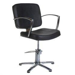 Fotel Fryzjerski Dario Czarny BH-8163 BS