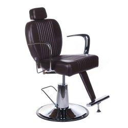 Fotel Barberski OlafBH-3273 Brązowy BS