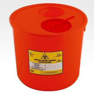 Pojemnik na zużyty sprzęt medyczny 2 L