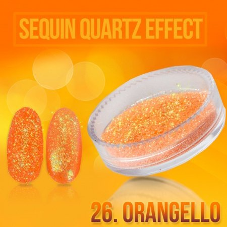 26. SEQUIN QUARTZ EFFECT - ORANGELLO