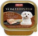 Animonda Vom Feinsten Adult z wołowiną, jogurtem i płatkami owsianymi 150g