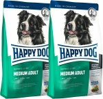 Happy Dog Supreme Fit&Well Adult Medium 2x12.5kg (25kg)