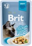Brit Premium Cat Adult Filety z kurczaka w sosie 24x85g