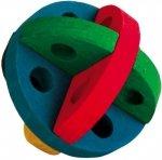 Trixie Drewniana piłka do przekąsek i zabawy 8cm