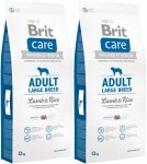 Brit Care N Adult Large Breed Lamb 38% & Rice 2x12kg (24kg)