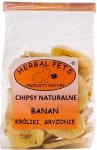 Herbal Pets Chipsy Bananowe 75g