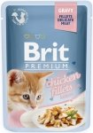 Brit Premium Cat Kitten Filety z kurczaka w sosie dla kociąt 24x85g