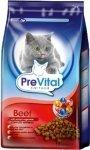 PreVital Sucha Karma Dla Kota z wołowiną i warzywami 18kg