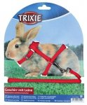 Trixie 6150 Smycz + Szelki dla królika