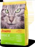 Josera SensiCat dla wybrednych i wrażliwych kotów 2kg +12 puszek Abart z drobiem GRATIS