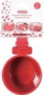 Zolux Miska do zawieszenia w klatce - czerwona 9,5cm