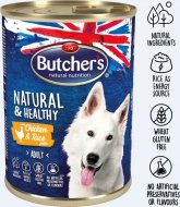 Butchers Dog Natural & Healthy - pasztet z kurczakiem i ryżem 390g