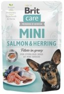 Brit Care Mini Adult Salmon & Herring Sterilised 85g