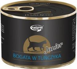 Natural Taste Cat Junior Bogata w tuńczyka 185g