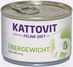 Kattovit Ubergewicht - Karma dietetyczna dla kotów 175g
