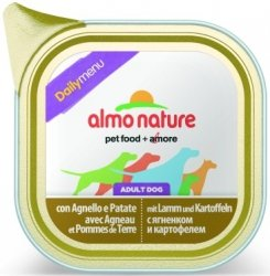 Almo Nature Daily Menu z jagnięciną i ziemniakami 100g