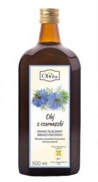 BIO Olej z Czarnuszki Zimnotłoczony, Nieoczyszczony, Olvita