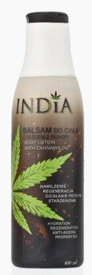 Balsam do Ciała z Olejem Konopnym, India Cosmetics, 400ml