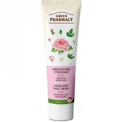 Rose Nourishing, Moisturizing Hand and Nail Cream, Green Pharmacy