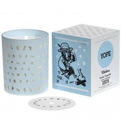 Verbena Scented Candle, Yope, 100% Natural
