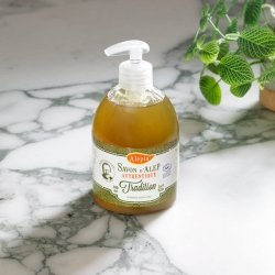 Liquid Soap Tradition 1% Laurel Oil, 100% Natural, Alepia, 500ml