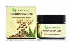 Hemp Night Face Cream, Dr. Biokord, 100% Natural