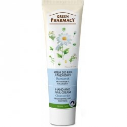 Chamomile Regenerating and Soothing Hand and Nail Cream, Green Pharmacy