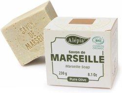 BIO Marseille Soap 100% Olive Oil, Alepia, 230 g