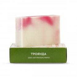 Organic, Vegan Handmade Rose Soap, Yaka