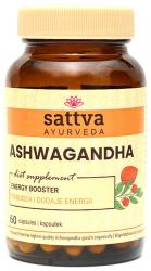 ASHWAGANDHA Suplement Diety, Sattva, 60 kapsułek