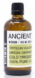Olej Bazowy z Naturalną Witaminą E, Ancient Wisdom, 100ml
