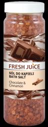 Sól do Kąpieli Czekolada i Cynamon, Fresh Juice, 700g