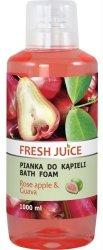 Pianka do Kąpieli Różane Jabłko & Guawa, Fresh Juice, 1000ml