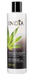 Szampon do Włosów z Olejem Konopnym, 400 ml, India Cosmetics
