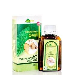 Olej do Masażu Rozgrzewającego, 100% Naturalny