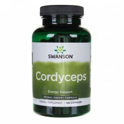 Cordyceps Sinensis 600 mg, Swanson, 120 kapsułek
