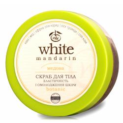 Peeling do Ciała Cukrowo- Olejowy Miodowy, White Mandarin