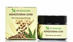 Odżywczo-regenerująca Maseczka do Twarzy z Olejem Konopnym, Dr.Biokord