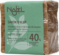 Mydło Oliwkowo-Laurowe Aleppo 40% Oleju Laurowego, Najel