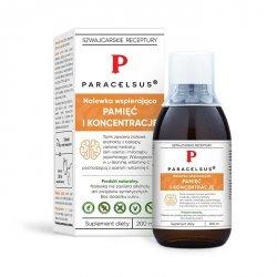 Nalewka Paracelsusa: Pamięć i Koncentracja, 200ml