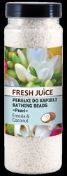 Perełki do Kąpieli Frezja i Kokos, Fresh Juice, 450g