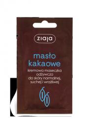 Kakaowa Maseczka Odżywczo-nawilżająca, Ziaja, 7ml