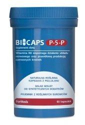 BICAPS P-5-P ForMeds Witamina B6, 60 kapsułek