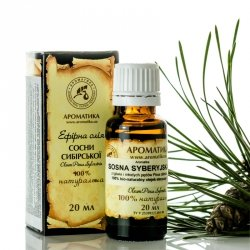 Olejek Sosny Syberyjskiej (Sosnowy), 100% Naturalny, Aromatika