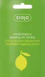 Peeling do Twarzy Limonkowo-cytrusowy Ziaja, 7ml