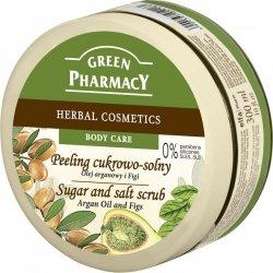 Peeling Сukrowo - Solny Olej Arganowy i Figi, Green Pharmacy