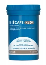 ForMeds Bicaps K2 D3, 60 kapsułek Suplement Diety