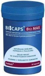 BICAPS B12 MAX, ForMeds, 60 kapsułek