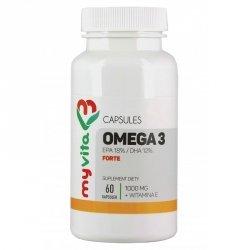 Omega-3 Forte + Witamina E MyVita Suplement Diety