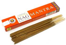 Kadzidełka Golden Nag Mantra, Vijayshree, 15g